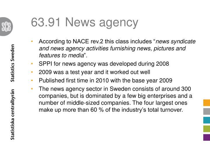 63.91 News agency