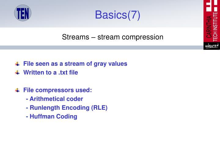 Basics(7)