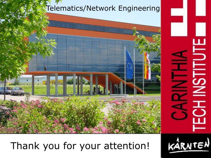 Telematics/Network Engineering