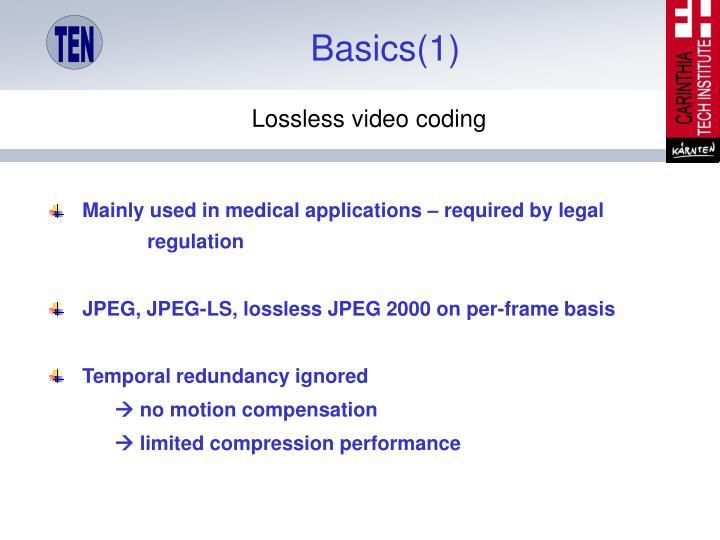 Basics(1)