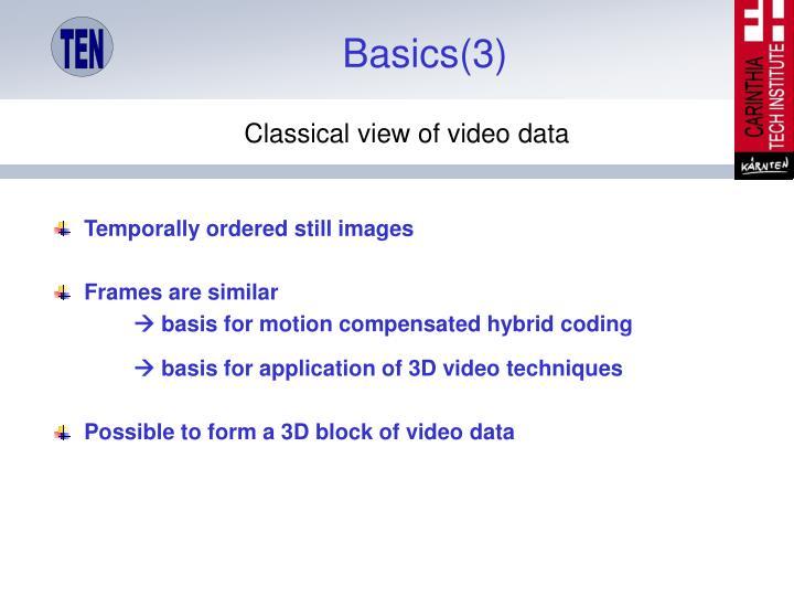 Basics(3)