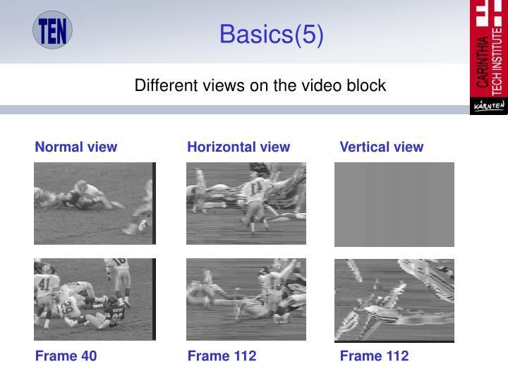 Basics(5)