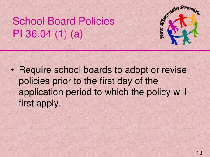 School Board Policies