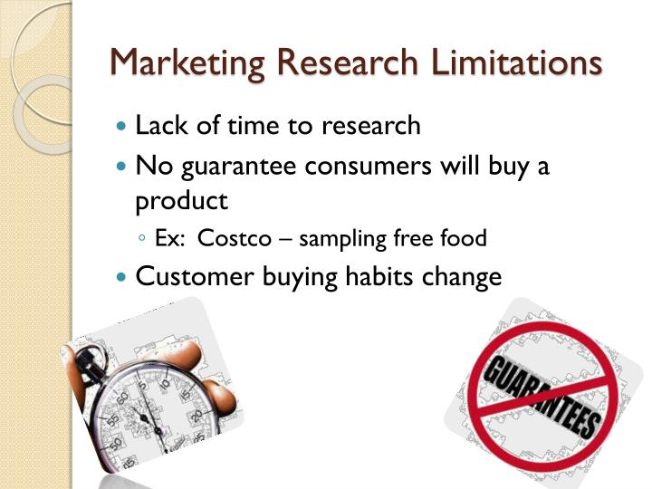 Marketing Research Limitations