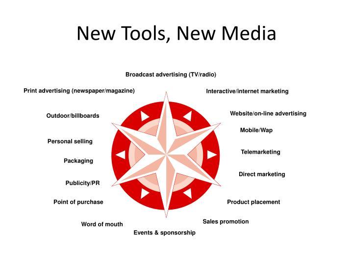 New Tools, New Media