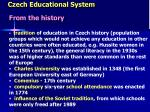 czech educational system