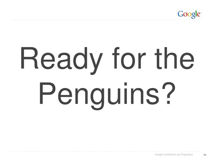 Ready for the Penguins?