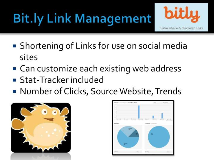 Bit.ly Link Management