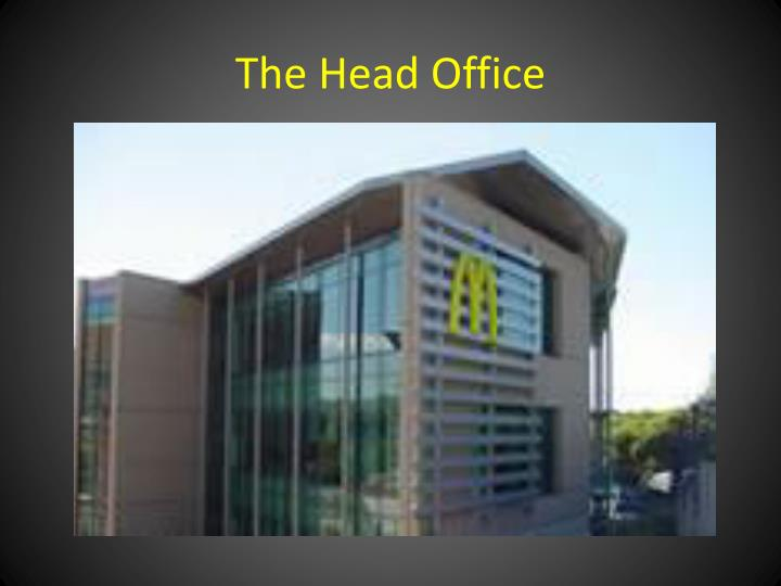 The Head Office