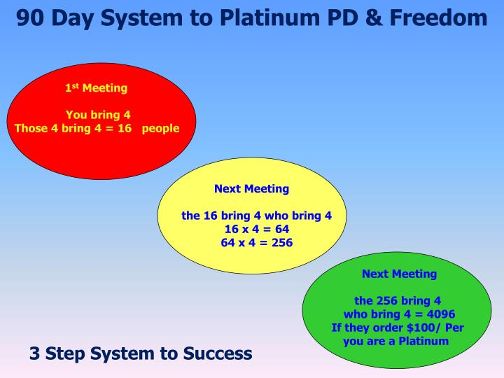90 Day System to Platinum PD & Freedom