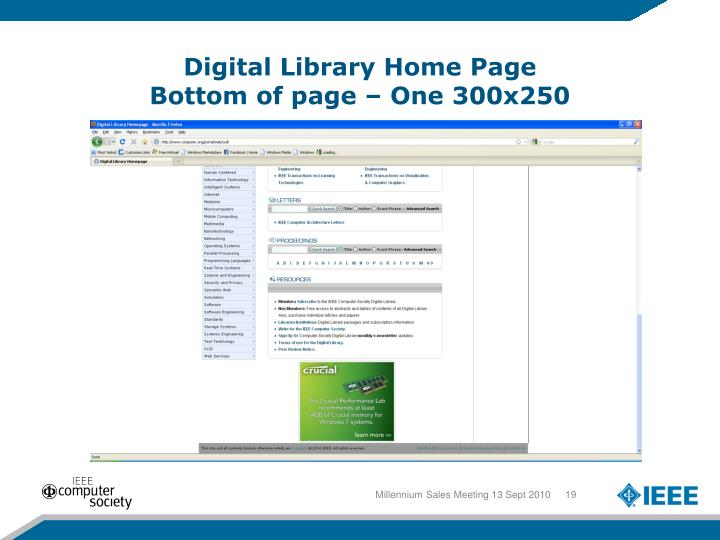 Digital Library Home Page