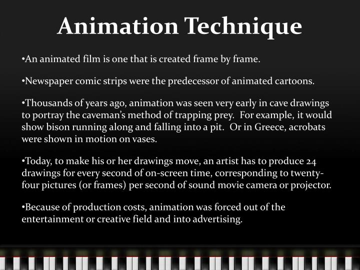 Animation Technique
