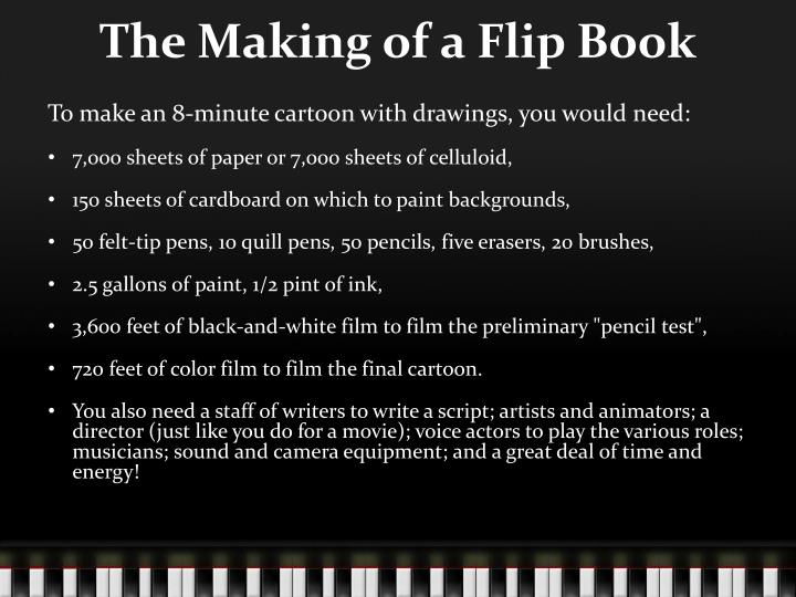 The Making of a Flip Book