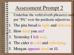 assessment prompt 21