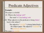predicate adjectives1