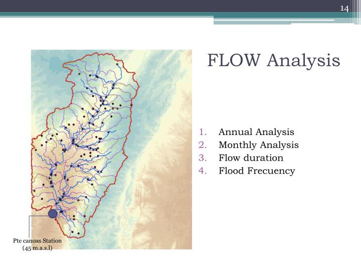 river flow data analysis Hec-ras is a program that models the hydraulics of water flow through natural rivers and other channels 100-year flows were assessed from a frequency analysis of the nearest gauging station data gis for water and environmental management.
