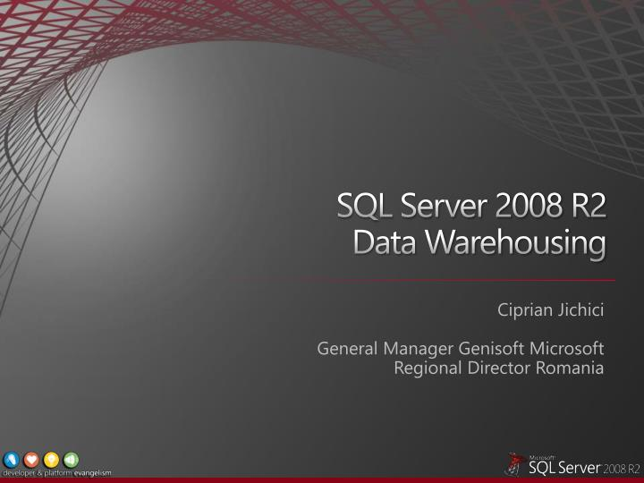 sql server 2008 r2 data warehousing