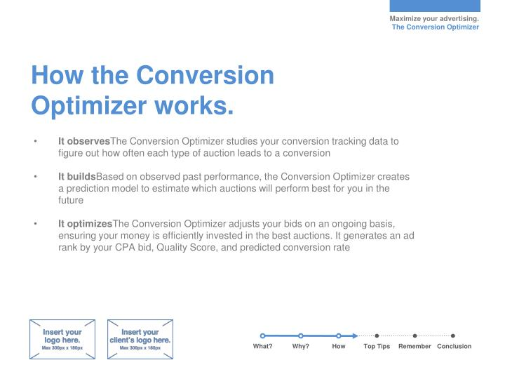 How the Conversion