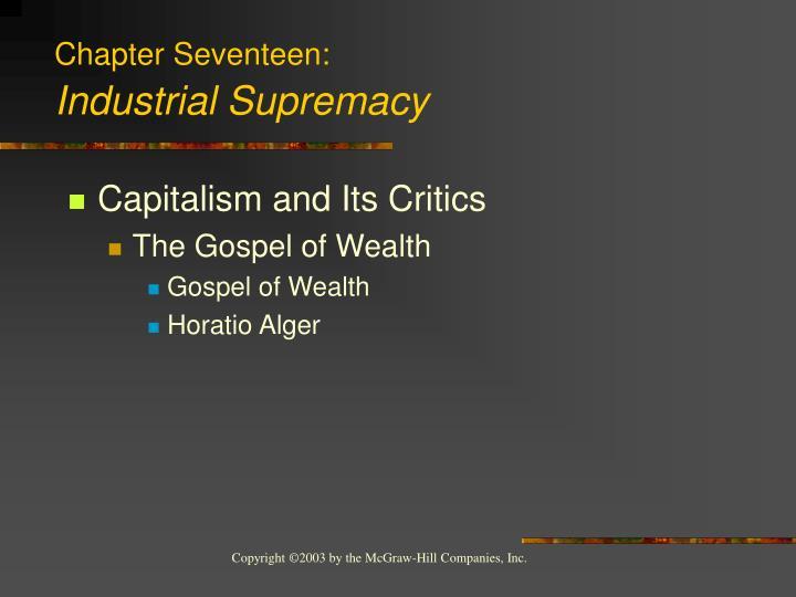 Chapter Seventeen: