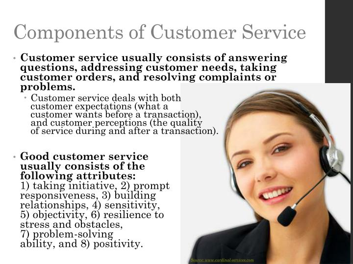 Components of Customer Service
