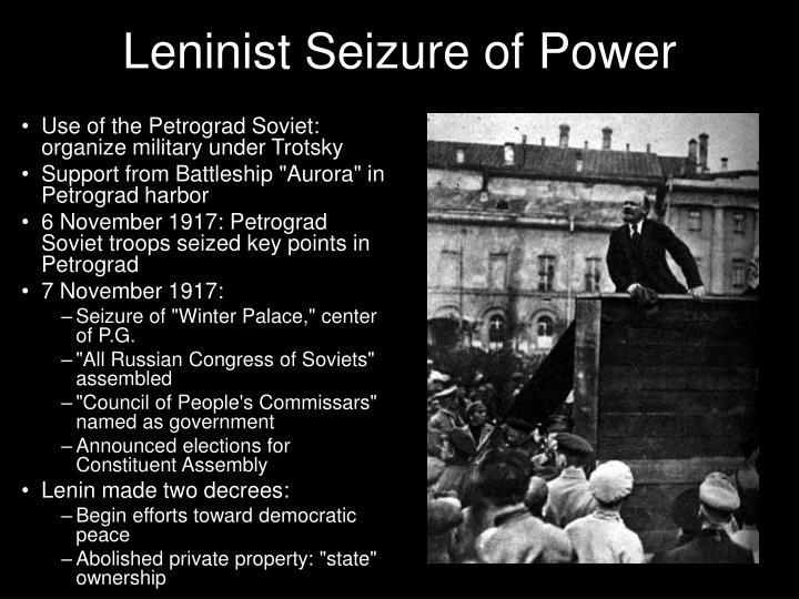 Leninist Seizure of Power