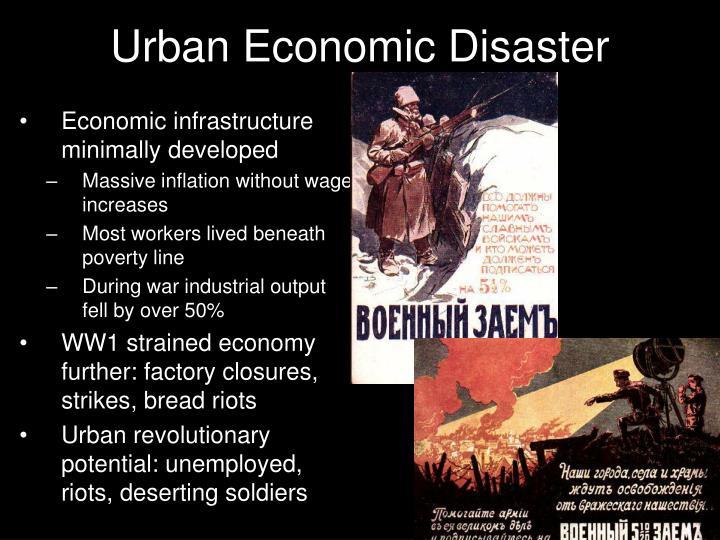Urban Economic Disaster