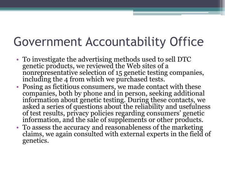 Government Accountability Office