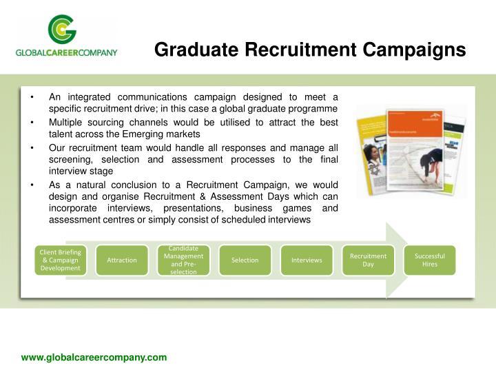 Graduate Recruitment Campaigns