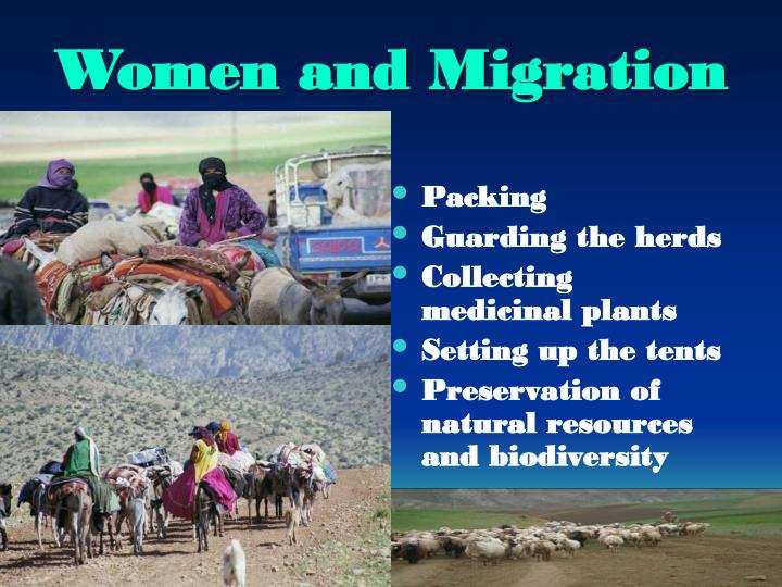 Women and Migration