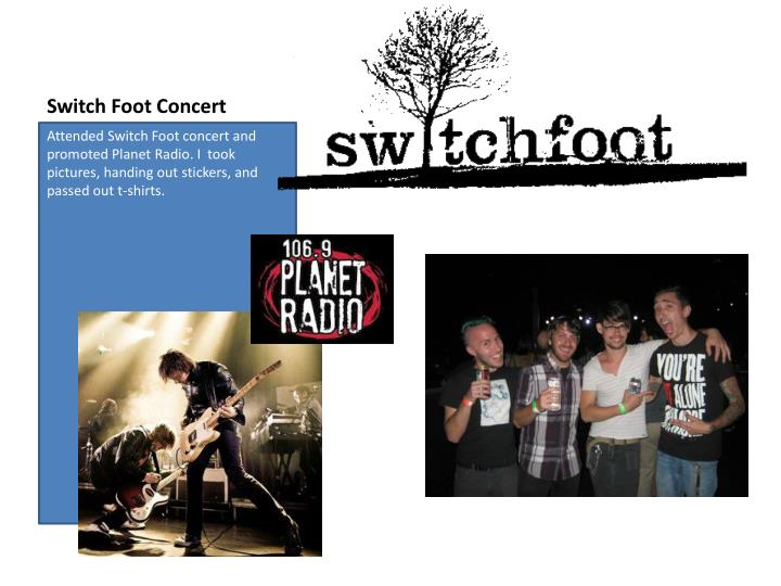 Switch Foot Concert