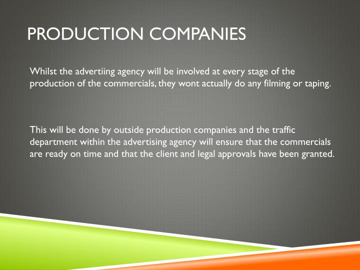 Production companies
