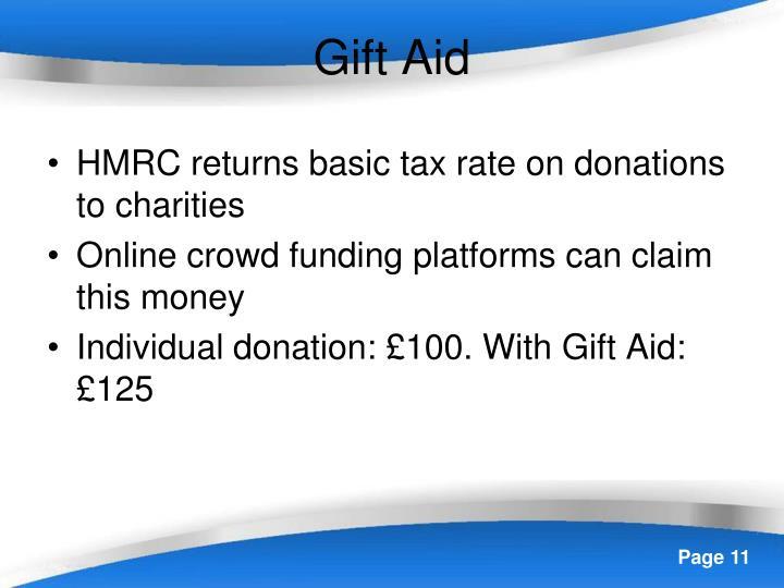 Gift Aid