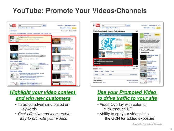 YouTube: Promote Your