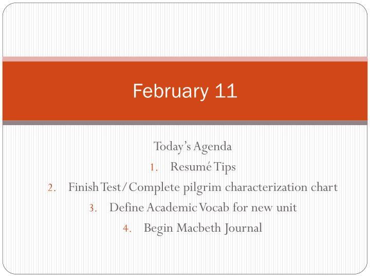 February 11