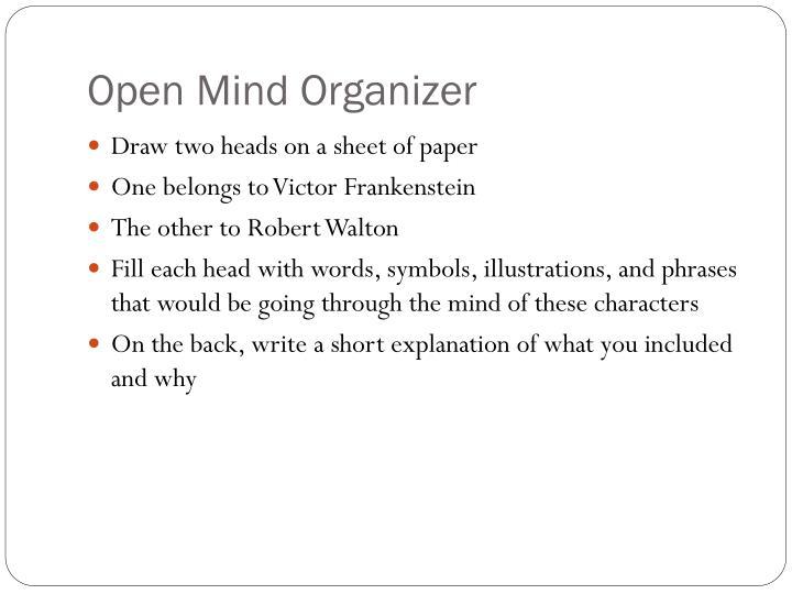 Open Mind Organizer
