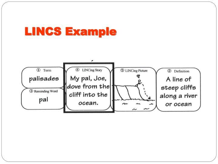 LINCS Example