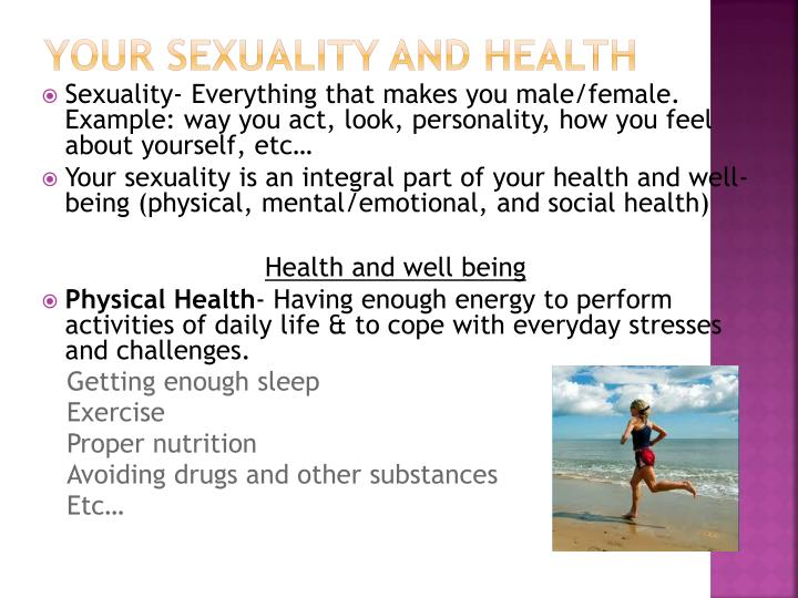 Your Sexuality and Health
