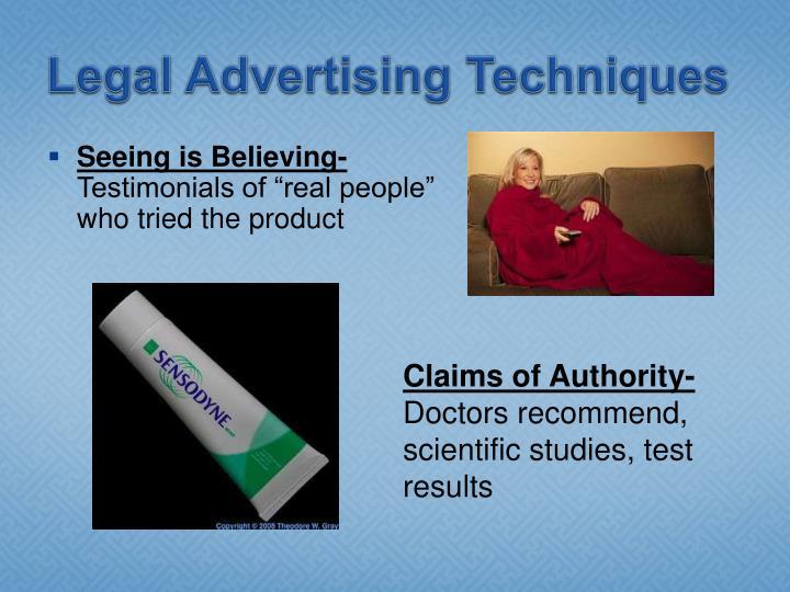Legal Advertising Techniques