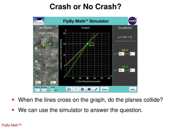 Crash or No Crash?