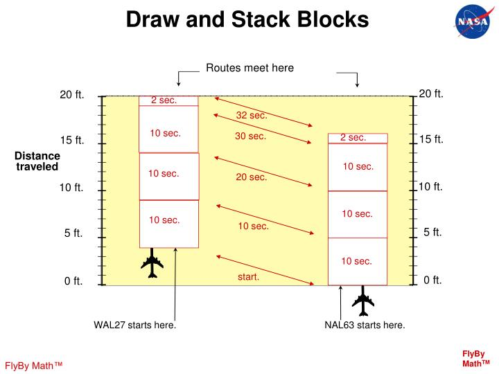 Draw and Stack Blocks