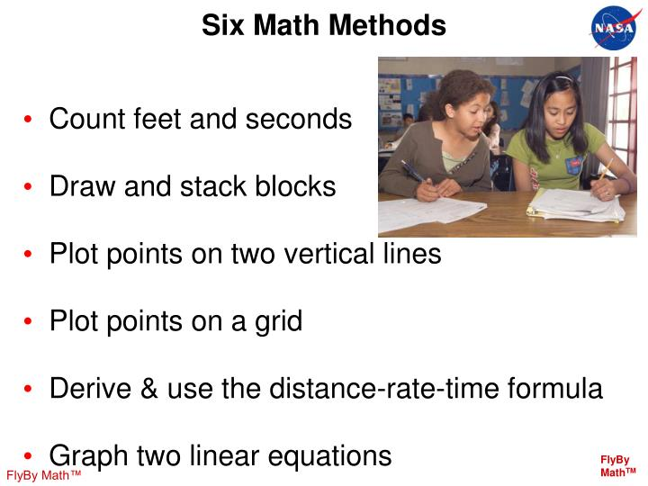 Six Math Methods