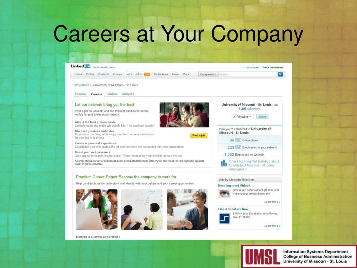 Careers at Your Company