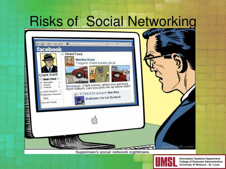 Risks of  Social Networking