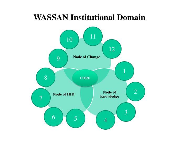 WASSAN Institutional Domain