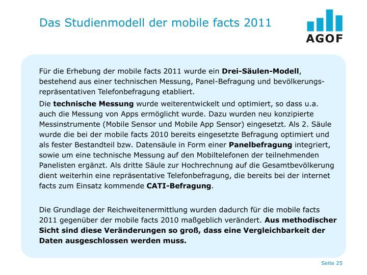 Das Studienmodell der mobile