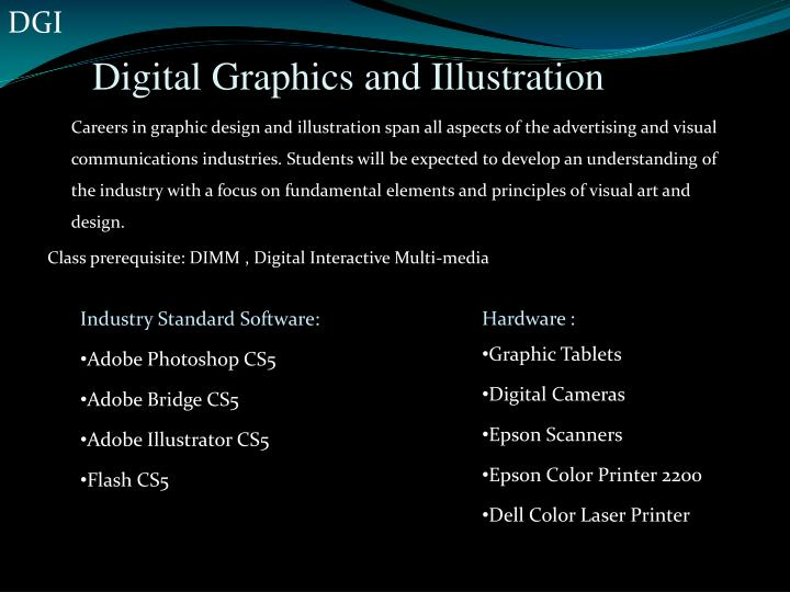 Digital graphics and illustration
