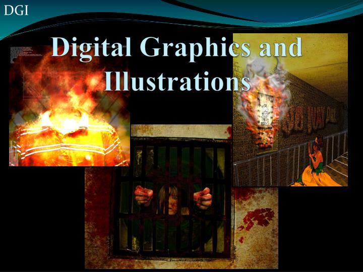 Digital graphics and illustrations