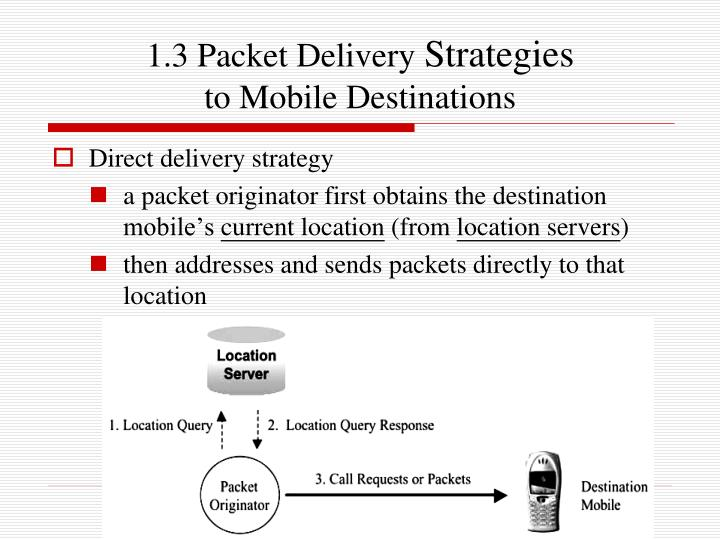 1.3 Packet Delivery