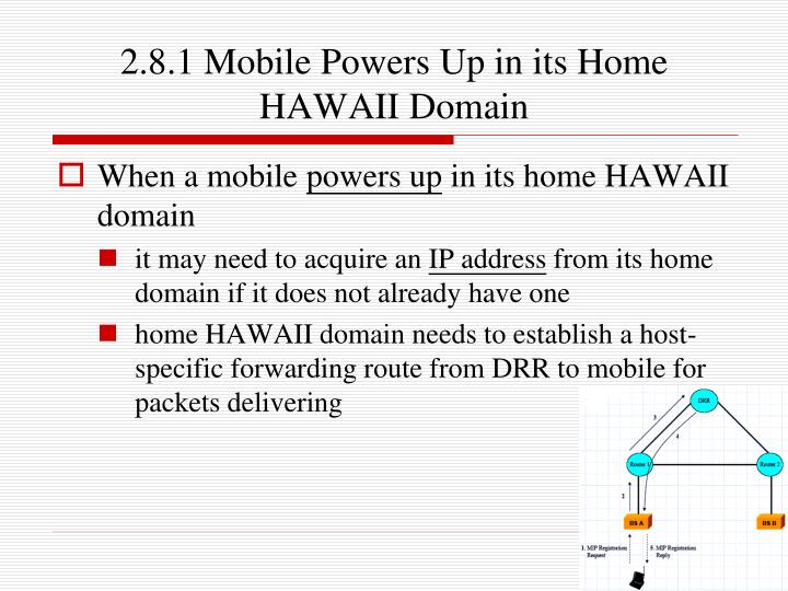 2.8.1 Mobile Powers Up in its Home HAWAII Domain