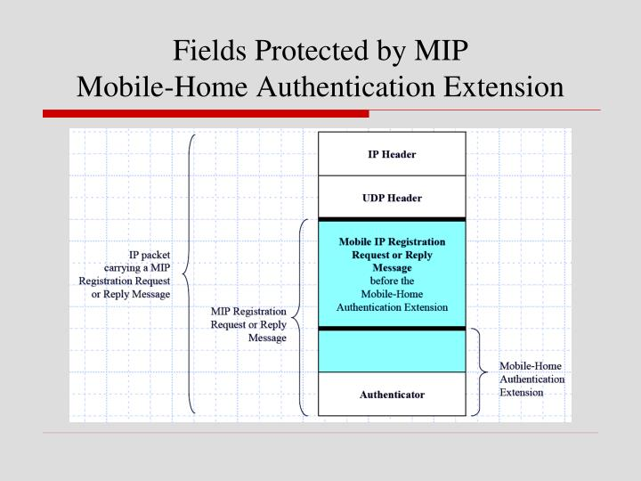 Fields Protected by MIP